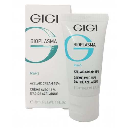 GiGi Bioplasma 15% Azelaic Cream for Oily and Problematic Skin 30ml