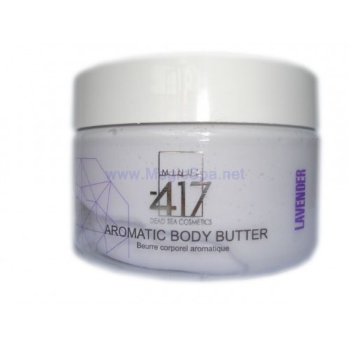 Minus 417 Dead Sea Cosmetics - Aromatic Body Butter-Lavender