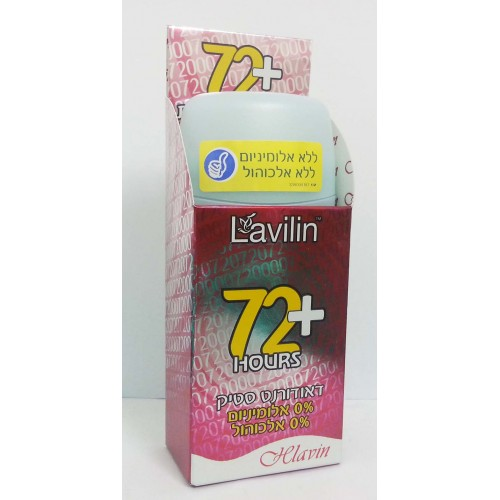 Hlavin Lavilin Deodorant Stick 72 Hours Plus Red