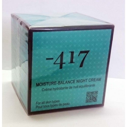 Minus 417 Dead Sea Cosmetics - Moisture -Balance Night Cream