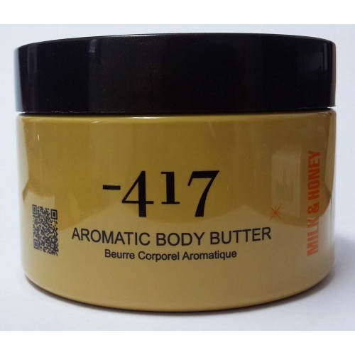 Minus 417 Dead Sea Cosmetics - Aromatic Body Butter-Milk & Honey