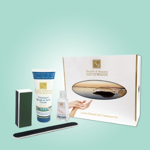 H&B Dead Sea Luxury Mineral Nail Treatment Kit