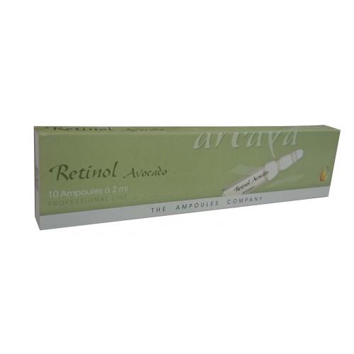 Arcaya Retinol Avocado Targeted Cell Regeneration 10 Ampoules 2ml each