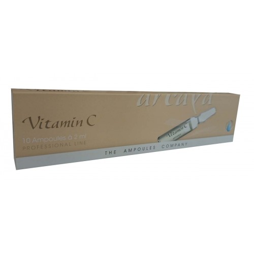 Arcaya Vitamin C Collagen Booster and Anti-pigment 10 Ampoules 2ml each