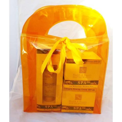 H&B Dead Sea Kit:Serum,Eye,Collagen Cream