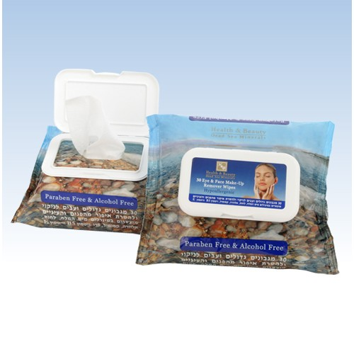 H&B Dead Sea Eye & Face Make-up Remover Wipes