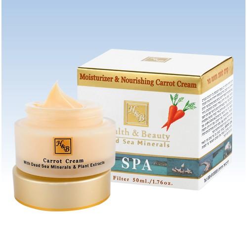H&B Dead Sea Moisturizer & Nourishing Carrot Cream
