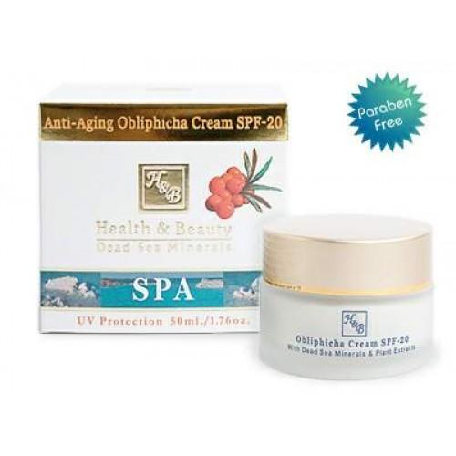 H&B Dead Sea Anti-Aging Obliphicha Cream SPF-20 50ml