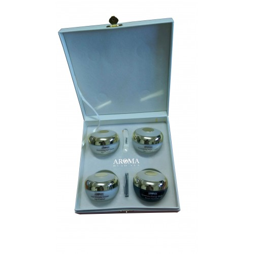 Aroma Dead Sea Royal Diamond Special Collection: Energy Mask,Eye Cream,Anti Wrinkle Cream,Night Cream