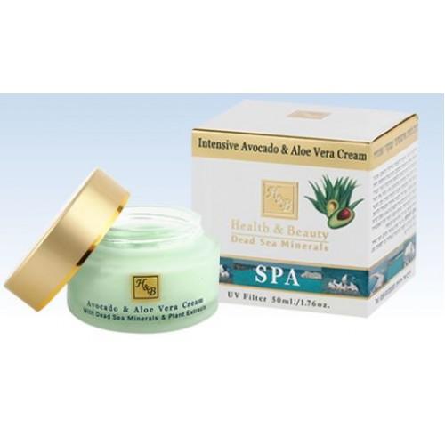 H&B Dead Sea Intensive Avocado & AloeVera Cream 50ml