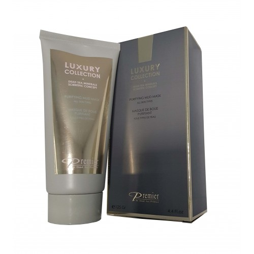 Premier Dead Sea Luxury Collection Purifying Mud Mask 125ml/4.4fl.oz.